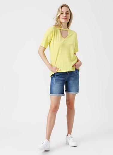 Komili Bluz Sarı